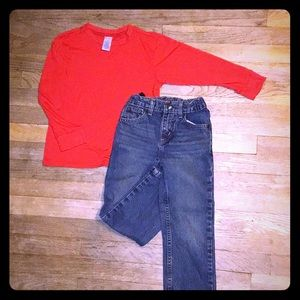 Boys Arizona Jeans size 5 Red Bundle